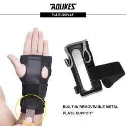 AOLIKES Wrist Brace Support Sport WristBand Steel Splint Aolikes 1 Pcs