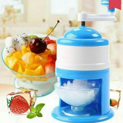Serutan Es Manual Portable Ice Shaver Ice Snow Cone Machine