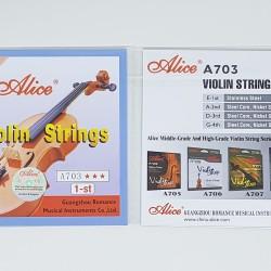 Senar Biola / Violin Eceran Alice A703 no. 1 Note E