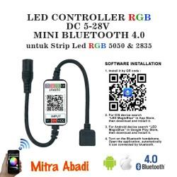 LED Controller RGB DC 5-28V MINI BLUETOOTH Jack Adaptor