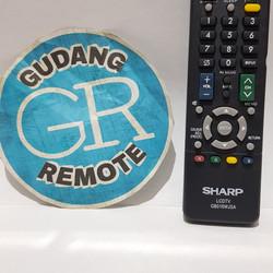 Remote Remot TV Sharp LCD LED Grade Original