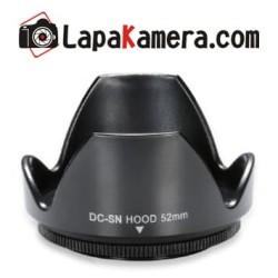 lens hood 52mm / lenshood universal for nikon, canon, sony, fuji dll