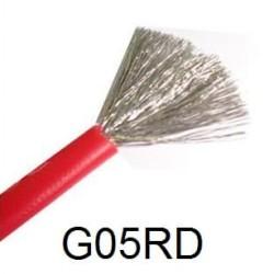 Kabel Silikon 18AWG silicone wire 18 awg Merah atau hitam AWG18 RC