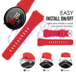 Xiaomi Huami Amazfit Pace Strap Silicone Watch Band Tali Jam Tangan
