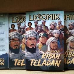Komik Islami - LIQOMIK 2 Kompilasi Kisah Teladan - Best Seller