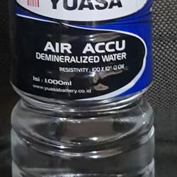 Air accu biru   air aki yuasa