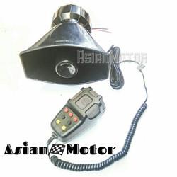 Klakson TOA 7 Suara 12 Volt + Microphone Ukuran Super Big
