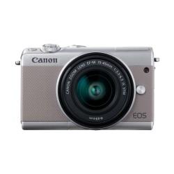 Canon EOS M100 Kit 15-45mm Kamera Mirrorless - Grey