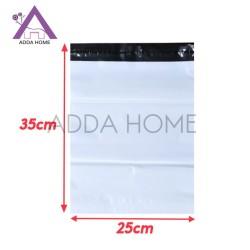 Polymailer Plastik Packing Olshop Tebal Putih 25x35 cm - ADDA HOME