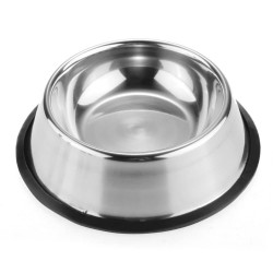 PE063 Stainless Steel Bowl For Dog & Cat Size S 18CM Mangkok Anjing
