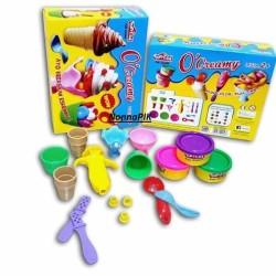 Fun Doh O Creamy Ice Cream - Lilin Mainan Anak FunDoh PlayDoh Play Doh