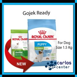 Royal Canin X-small Puppy / Junior 1.5kg - Fresh Pack