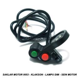 Saklar Motor 0053 - Klakson - Lampu Dim - Sein Motor