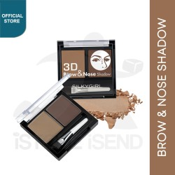 SILKYGIRL Expert Brow & Nose Shadow Dark Brown
