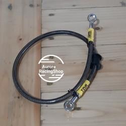 Selang Rem TDR Black Carbon 24 Inch / 60 Cm