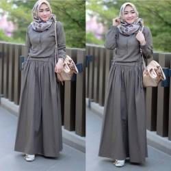 Baju Gamis Syari Wanita Muslim Terbaru Sadira Dress Termurah