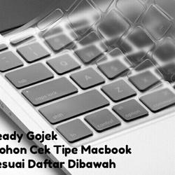 Keyboard Protector Cover Silikon Macbook Pro Air Retina 11 13 15 17