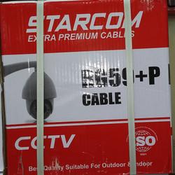 Kabel CCTV RG59+Power Starcom 300M