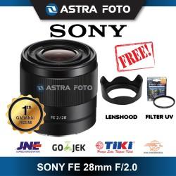 SONY FE 28mm F/2.0 / SONY 28mm F2 LENS FULL FRAME LENSA SONY