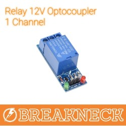 Relay 12V Optocoupler 1 Channel