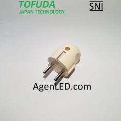 TOFUDA Steker Arde Colokan Bulat Plug SNI bukan uticon S-28R S28R S-28