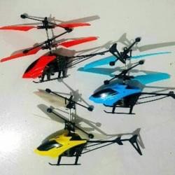 Flying heli helicopter Toy Mainan Anak Terbang Sensor tangan