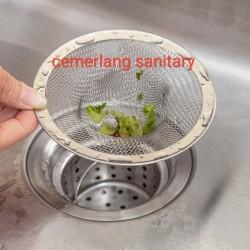saringan kichen sink/strainer cuci piring stainless