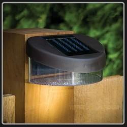 Lampu Solar Panel Taman LED Tempel Dinding Recharge Outdoor WaterProof