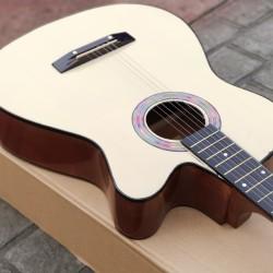Gitar murah Akustik cutway natural bandung