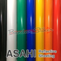 Sticker ASAHI Reflective Skotlet Scotlite METERAN Bahan Cutting Murah