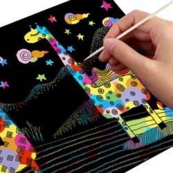 scratch note magic buku gambar gores sno054