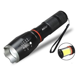 Senter Chip LED Torch Cree E17 XM-L T6 Taffware Magnet COB Zoom 2019