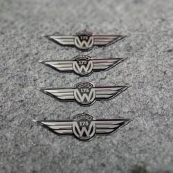 Emblem Stainless Kawasaki W175 Indonesia