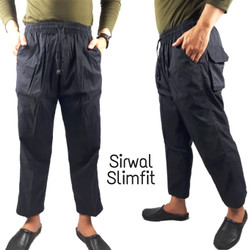 Celana Panjang Sirwal Slim Fit / Pangsi / cingkrang / laa isbal -SFT
