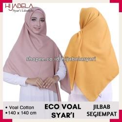 Hijab Segi Empat Saudia Syar'i by Umama Scarf Seri 40 Warna