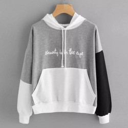 DaveFashion - Sweater Hodie Beauty is in the eye