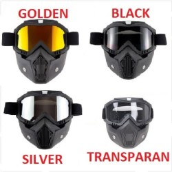 Google Mask Helm Masker Kaca Mata Motor Goggles Trail Cross