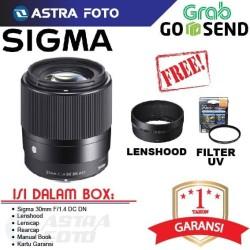 SIGMA LENS 30mm F/1.4 DC DN LENSA FOR SONY E