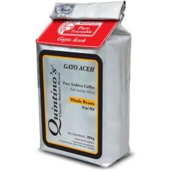 Quintino's Gayo Whole bean 250 gram
