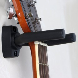 Bracket Hook Gantungan Dinding Gitar Black