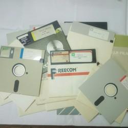 """Komputer Retro - Disket Floppy Disk 5.2 """""""