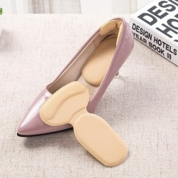 Bantalan Pelindung Tumit dan Mata Kaki T-Shaped Insole Shoes Pad
