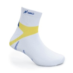 NIMO Kaos Kaki Olahraga Half Socks SPORTS SERIES White 25-28