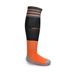 NIMO Kaos Kaki Bola Soccer Series CUSHION Socks 25-28 Black Orange