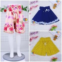 Rok Celana Motif uk 1-7 Tahun / Rok Celana Bawahan Anak Perempuan Adem
