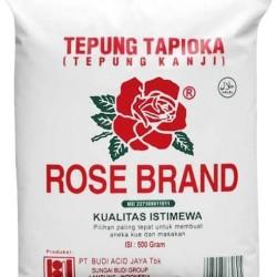 Tepung Tapioka Tepung Kanji ROSE BRAND isi 500 Gram