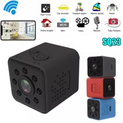 Spy Cam Kamera Pengintai SQ23 Mini Dv Wifi Action Camera Night Vision