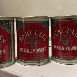 Hercules Baking Powder Tepung Pengembang Kue 110 Gr