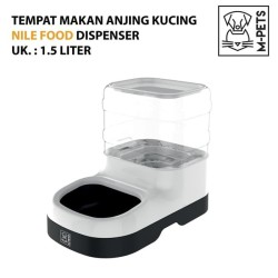 M-Pets Nile Food Dispenser-Open 1,5kgs / Alat Makan