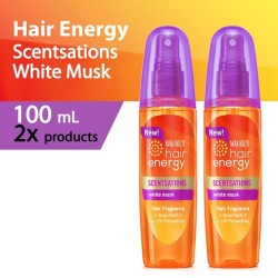 PAKET ISI 2-Makarizo Hair Energy Scentsations White Musk 100 mL